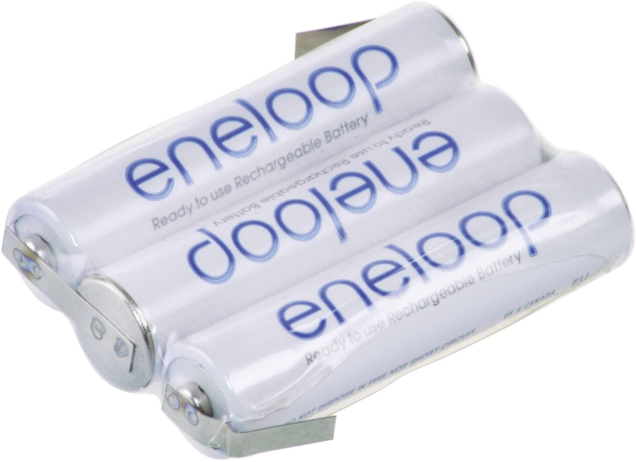 Akupack - sada nabíjacích batérií NiMH 3 micro (AAA) Panasonic eneloop Reihe F1x3 129674, 750 mAh, 3.6 V