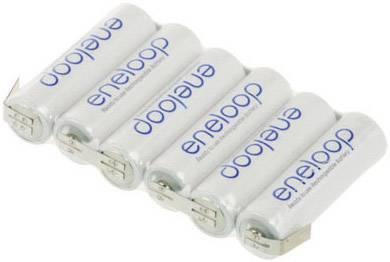 Akupack - sada nabíjacích batérií NiMH 6 mignon (AA) Panasonic eneloop Reihe F1x6 126404, 1900 mAh, 7.2 V