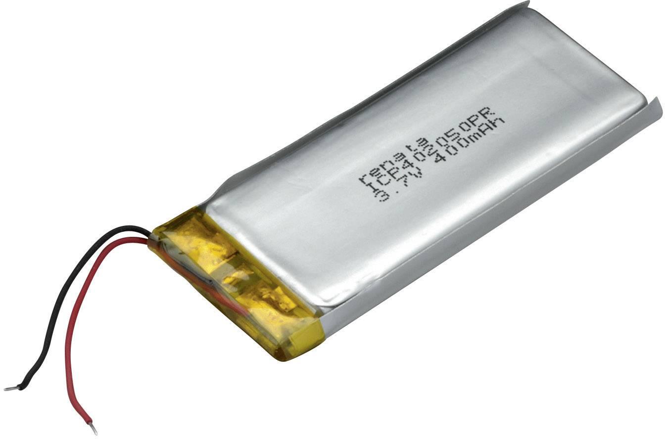 Špeciálny akumulátor Renata ICP402050PR, LiPo, 3.7 V, 420 mAh