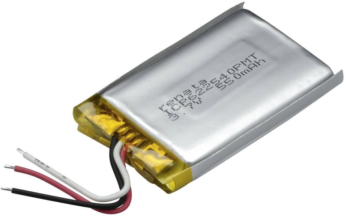 Špeciálny akumulátor Renata ICP622540PMT, LiPo, 3.7 V, 600 mAh
