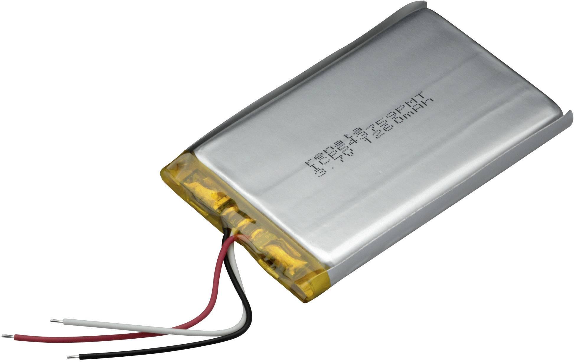 Akumulátor Li-Pol Renata, 3,7 V, 1320 mAh, ICP543759PMT