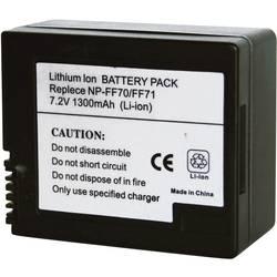 Náhradní baterie pro kamery Conrad Energy NP-FF70/NP-FF71, 7,2 V, 1200 mAh