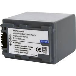 Náhradné batérie pre kamery Conrad Energy NP-FP90, 7,2 V, 1600 mAh
