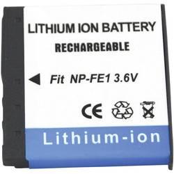 Náhradní baterie pro kamery Conrad Energy NP-FE1, 3,6 V, 450 mAh