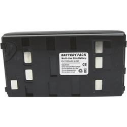 Náhradní baterie pro kamery Conrad Energy BN-V12U, 6 V, 1800 mAh