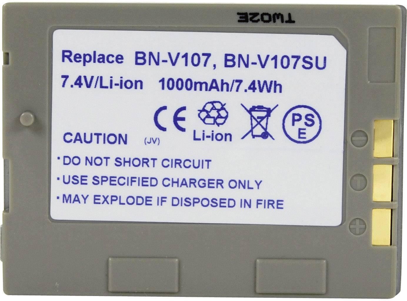 Akumulátor do kamery Conrad energy 252101 252101, 650 mAh