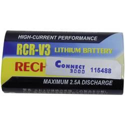 Náhradní baterie pro kamery Conrad Energy RCR-V3, 3 V, 1100 mAh