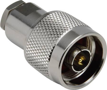 N konektor zástrčka, rovná BKL Electronic 0404008/D, 50 Ohm, 1 ks