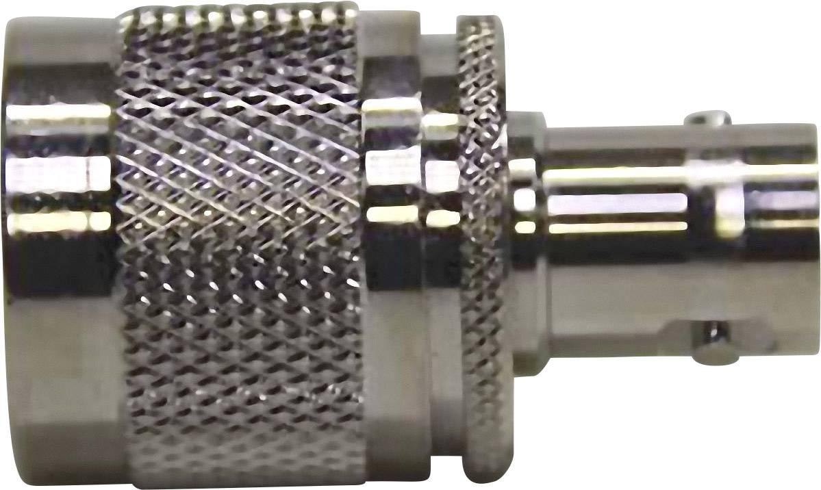 N zástrčka ⇔ BNC zásuvka, 50 Ω, adaptér rovný