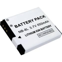 Náhradní baterie pro kamery Conrad Energy NB-8L, 3,7 V, 650 mAh