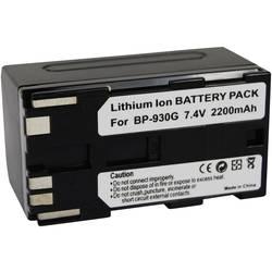 Náhradní baterie pro kamery Conrad Energy BP-930G, 7,4 V, 2200 mAh