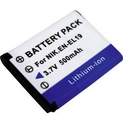 Náhradní baterie pro kamery Conrad Energy EN-EL19, 3,7 V, 500 mAh