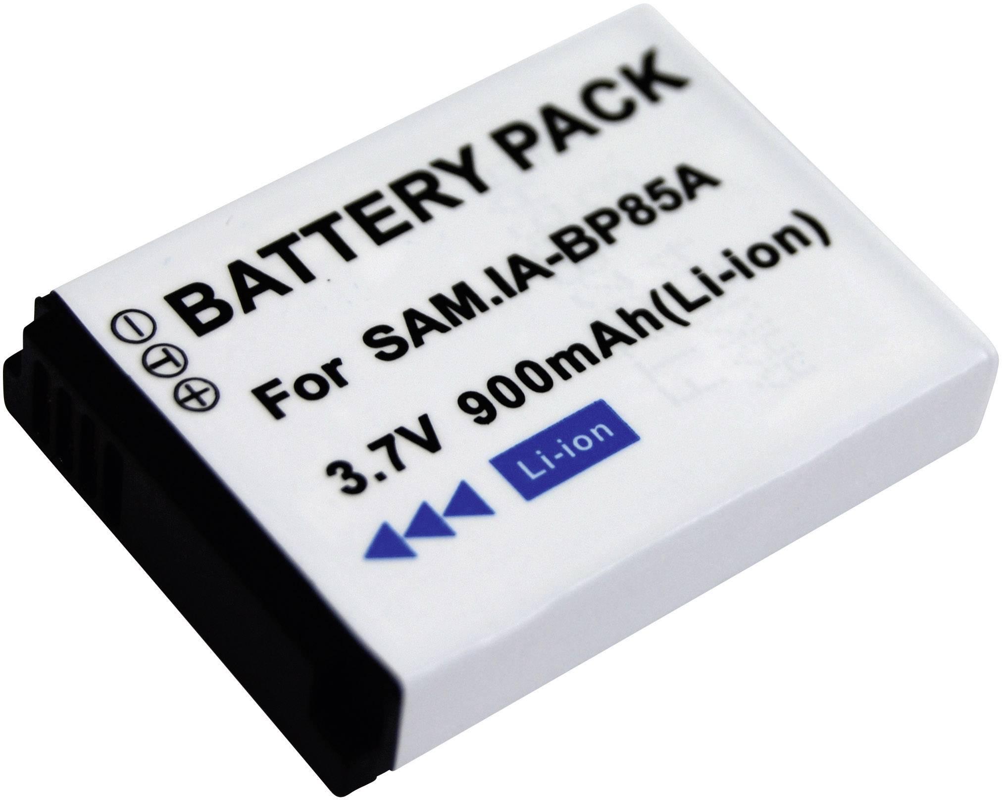 Akumulátor do kamery Conrad energy IA-BP85A Samsung IABP85A, 600 mAh