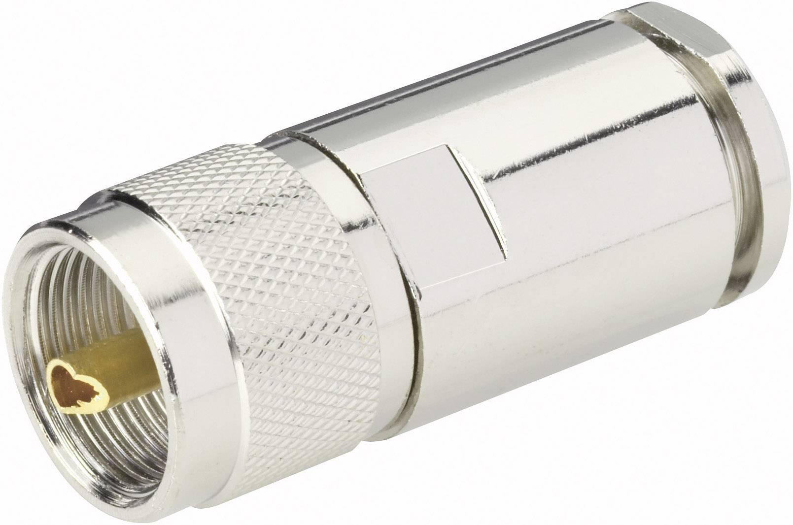 UHF konektor zástrčka, rovná BKL Electronic 0406064, 50 Ohm, 1 ks