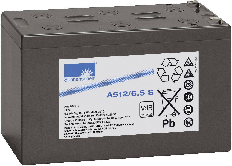 Olovený akumulátor GNB Sonnenschein A512/6,5 S NGA51206D5HS0SA, 6.5 Ah, 12 V