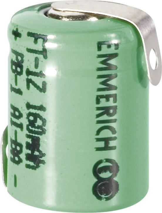 Emmerich NiMH-akumulátory so Z spájkovacími očkami 1/3 AAA 160 mAh, FT-1Z