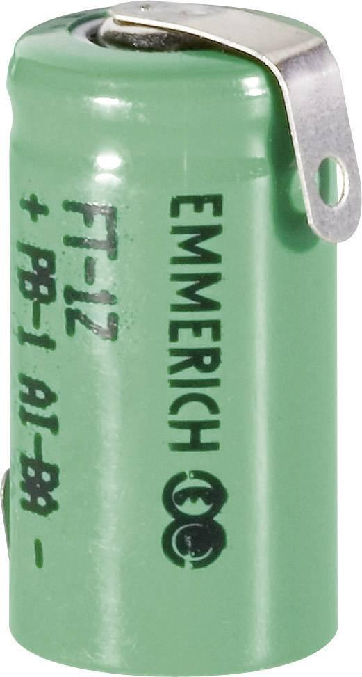 Emmerich NiMH-akumulátory so Z spájkovacími očkami 1/2 AAA 330 mAh, FT-1Z