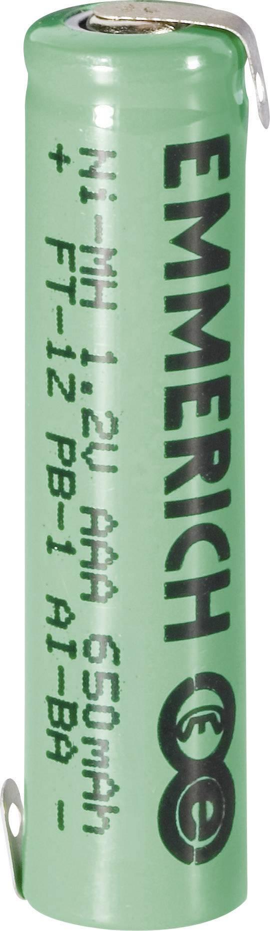 Špeciálny akumulátor Emmerich Micro ZLF, micro (AAA), NiMH, 1.2 V, 650 mAh