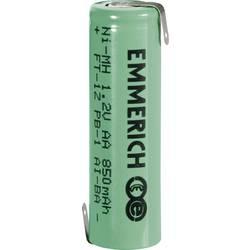 Špeciálny akumulátor Emmerich Mignon ZLF, mignon (AA), spájkovacia špička v tvare Z, Ni-MH, 1.2 V, 850 mAh