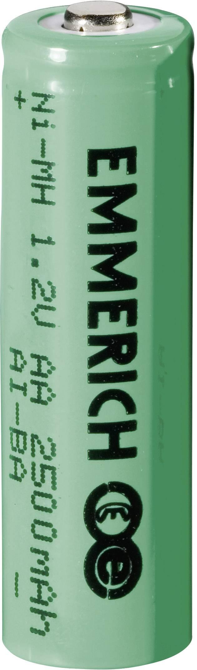Tužkový akumulátor typu AA NiMH Emmerich HR06 255028, 2500 mAh, 1.2 V, 1 ks