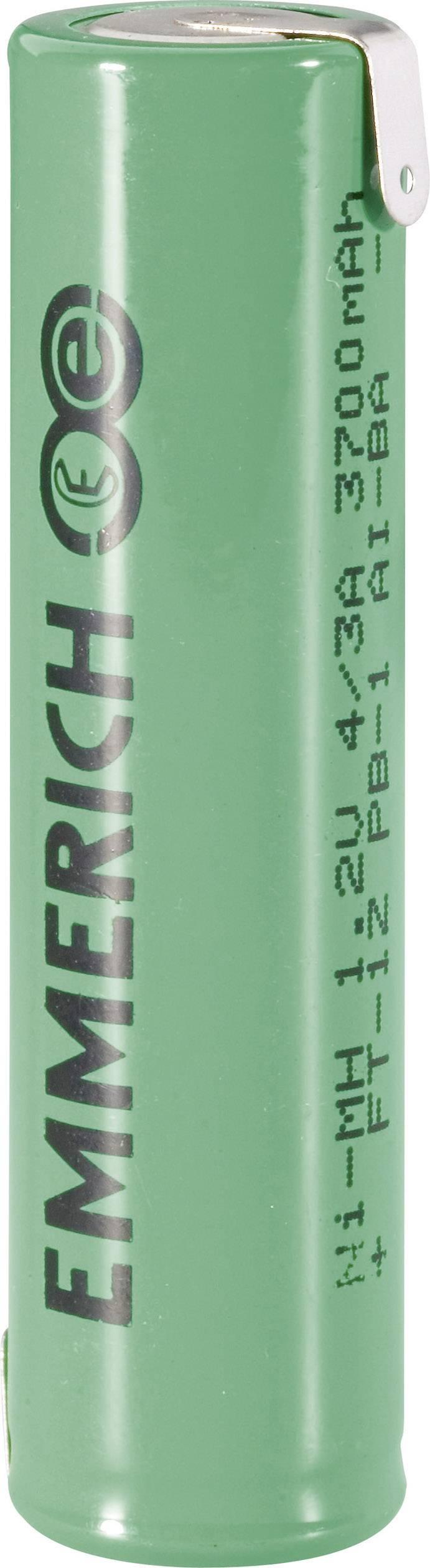Emmerich NiMH-akumulátory so Z spájkovacími očkami 4/3 3700 mAh, FT-1Z