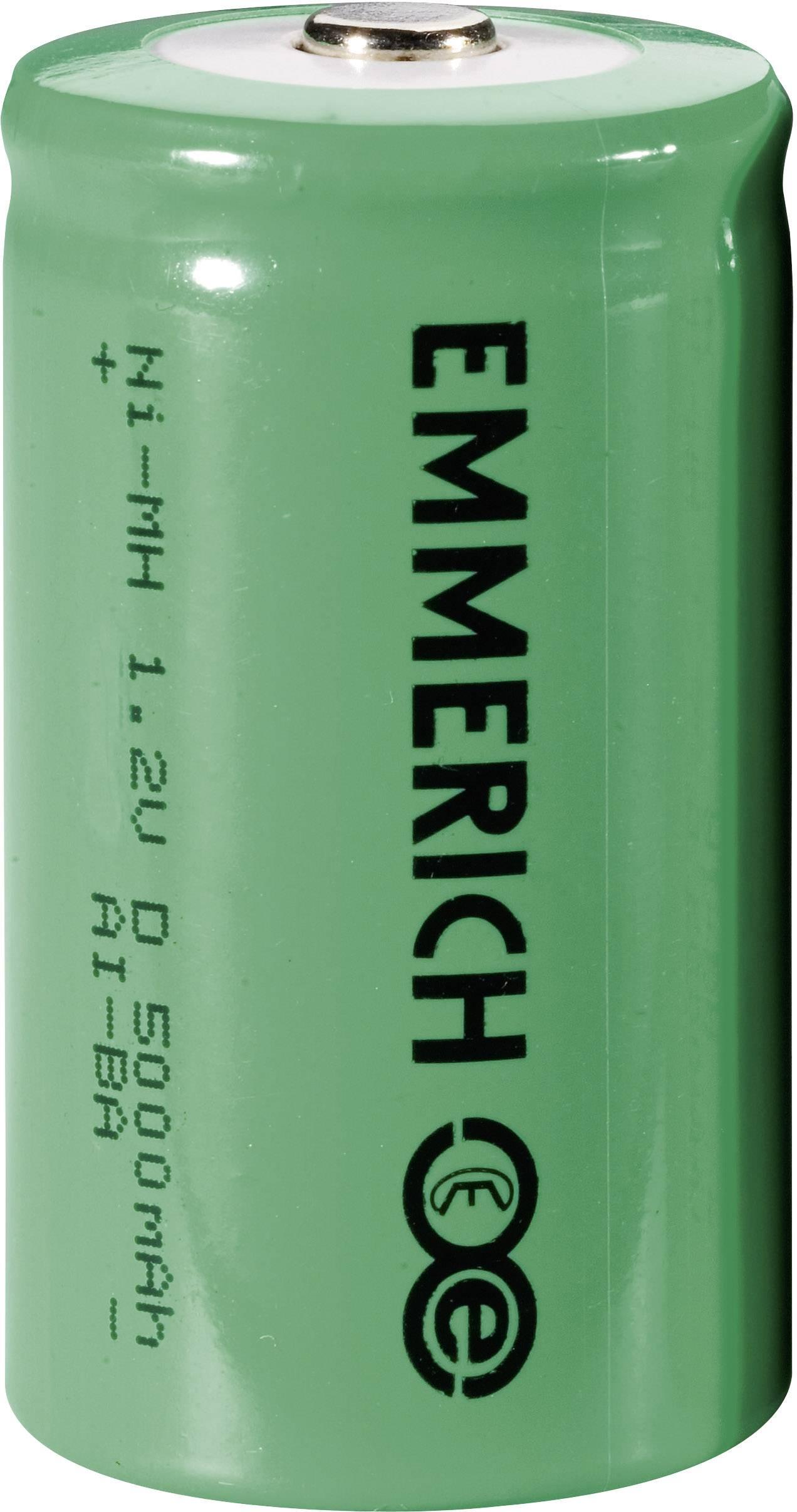 Akumulátor Emmerich, NiMH, D, 5000 mAh