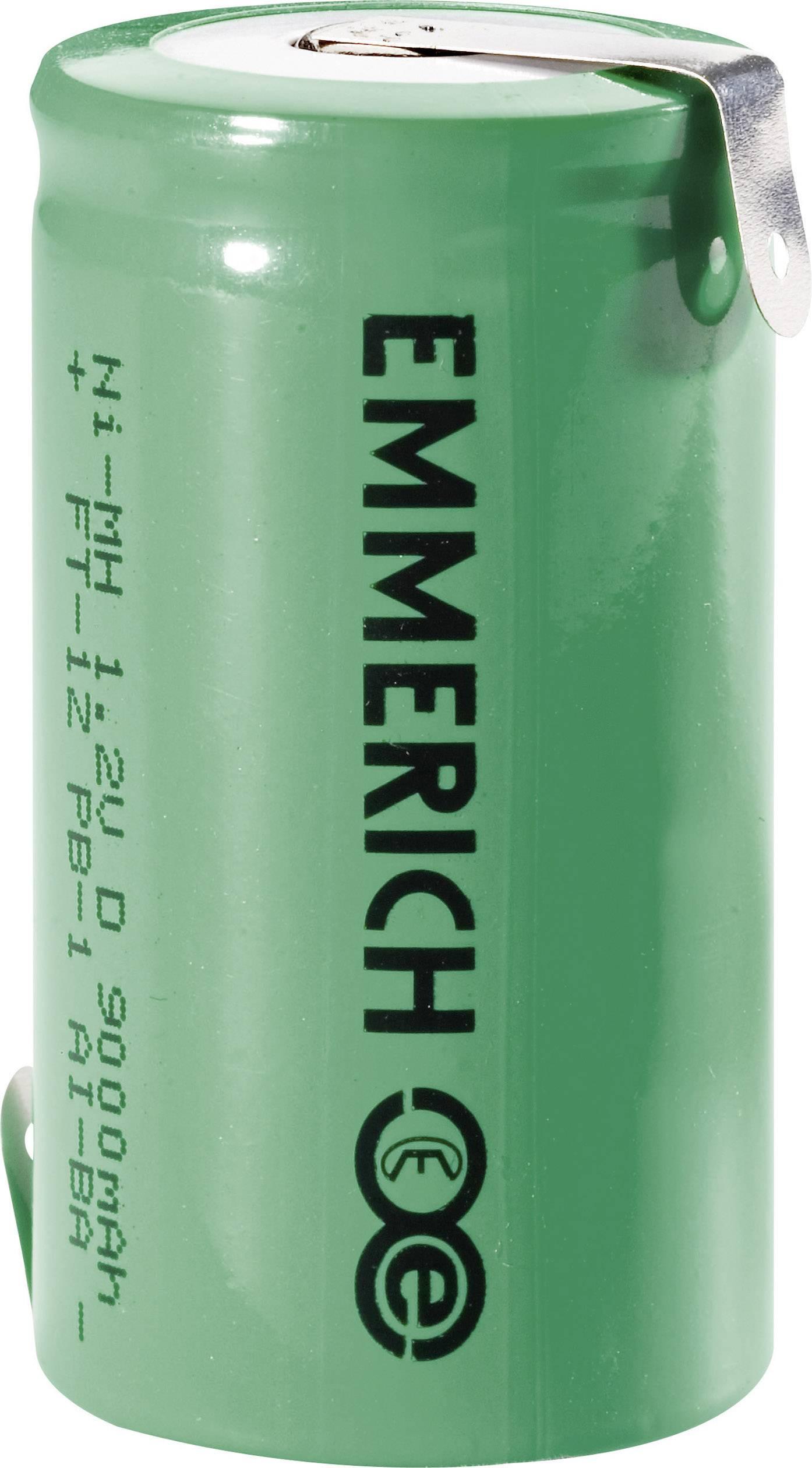 Emmerich NiMH-akumulátory so Z spájkovacími očkami D 9000 MAH FT-1Z