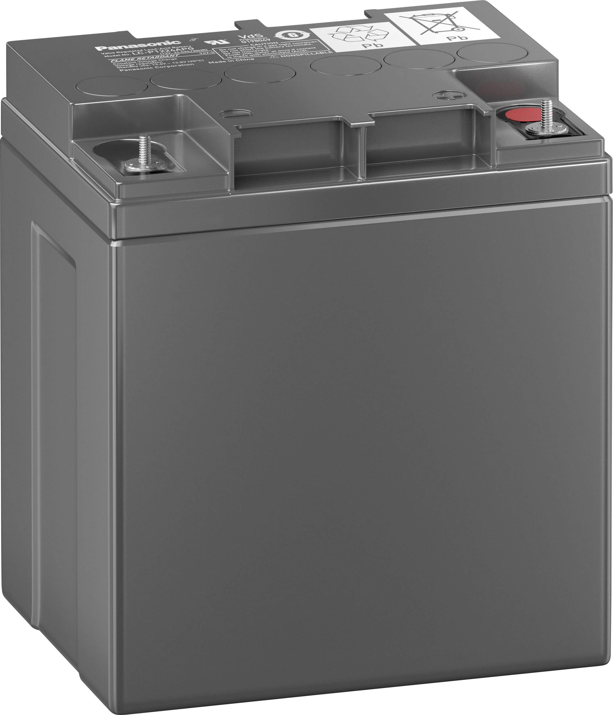 Bezúdržbové olovené akumulátory so špeciálnou technikou 12 V 24 Ah