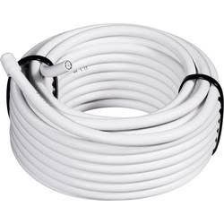SAT koaxiální kabel Conrad 1511002/25, stíněný, bílá, 25 m