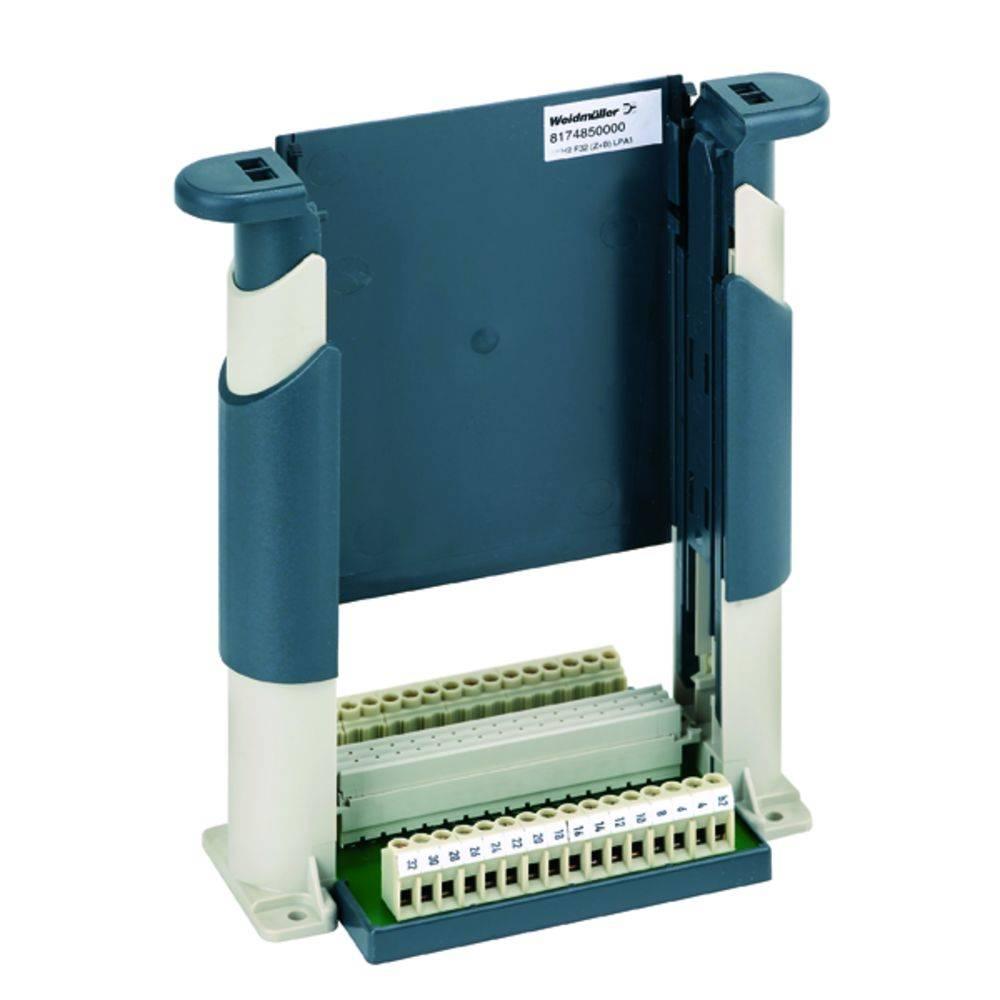 Držák zásuvných karet Weidmüller 8174850000, (d x š x v) 80.7 x 160 x 192.5 mm, SKH2 F32 (Z+B) LPP, 1 ks