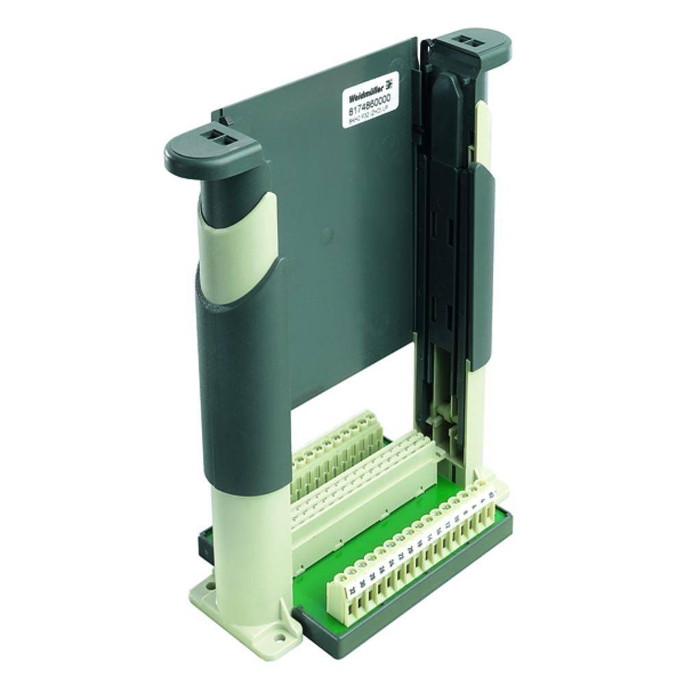 Držák zásuvných karet Weidmüller 8174860000, (d x š x v) 80.7 x 160 x 192.5 mm, SKH2 F32 (Z+D) LP, 1 ks
