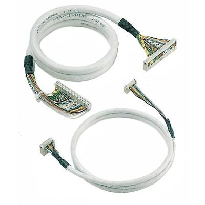 Pre-assembled cable, FBK, CONECTOR CABLE PLANO HE10 40P Weidmüller FBK 40/100 RK 8216350000, 1 ks