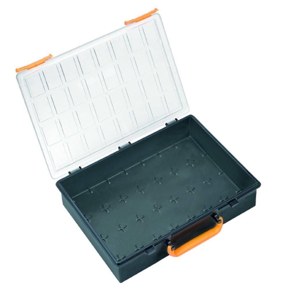 Kufřík na součástky Weidmüller, PSC80 PC, 9202330000, přihrádek: 1, 261 x 338 x 340 , transparentní