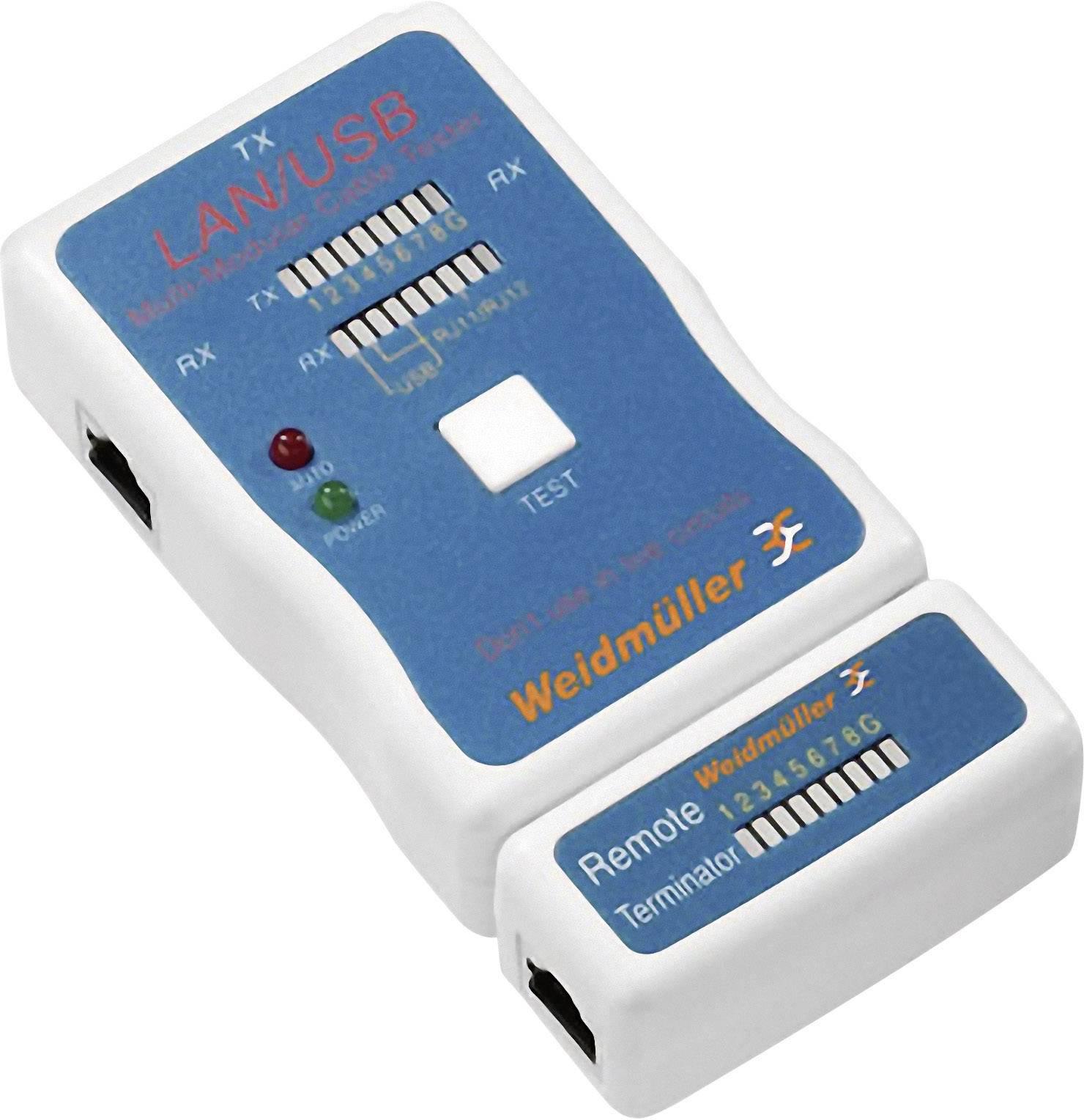 Weidmüller LAN USB TESTER LAN, USB