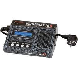Modelárska multifunkčná nabíjačka Graupner Ultramat 16S 6468, 12 V, 220 V, 15 A