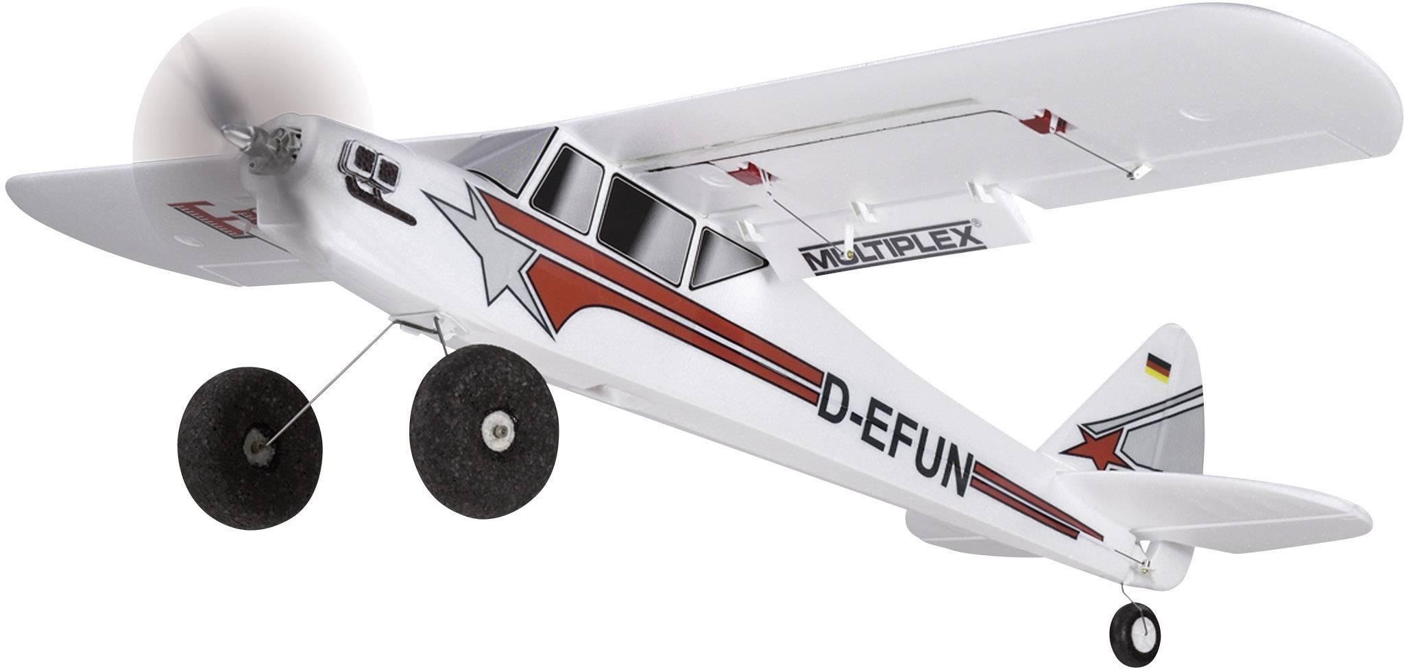 RC model motorového lietadla Multiplex FunCub 264243, rozpätie 1400 mm
