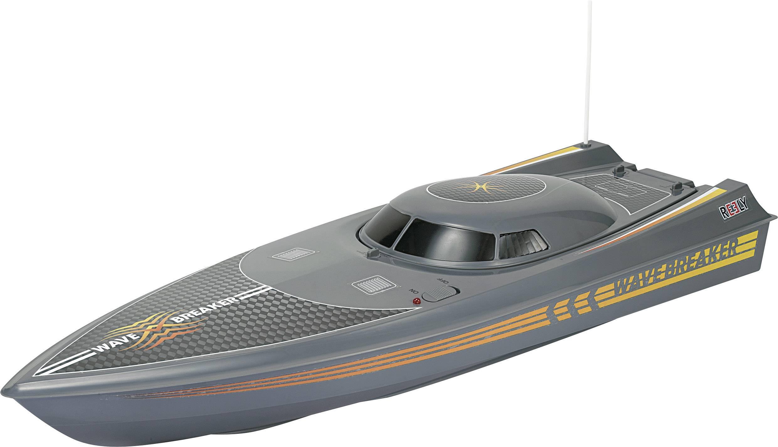 RC motorový čln Reely Wavebreaker, 100% RTR, 610 mm