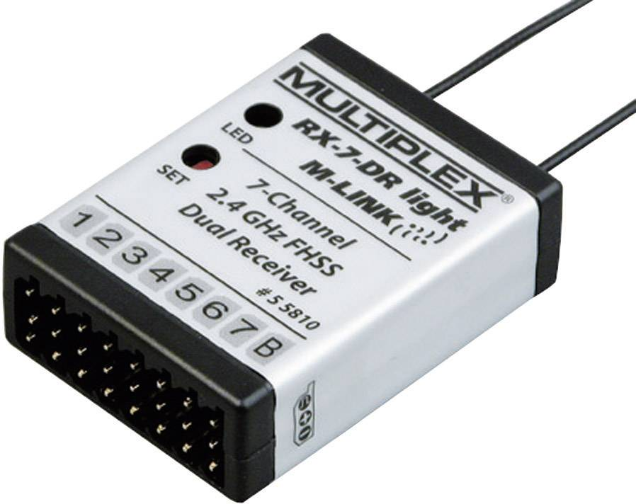 Přijímač Multiplex RX-7-DR Light M-Link, 2,4 GHz