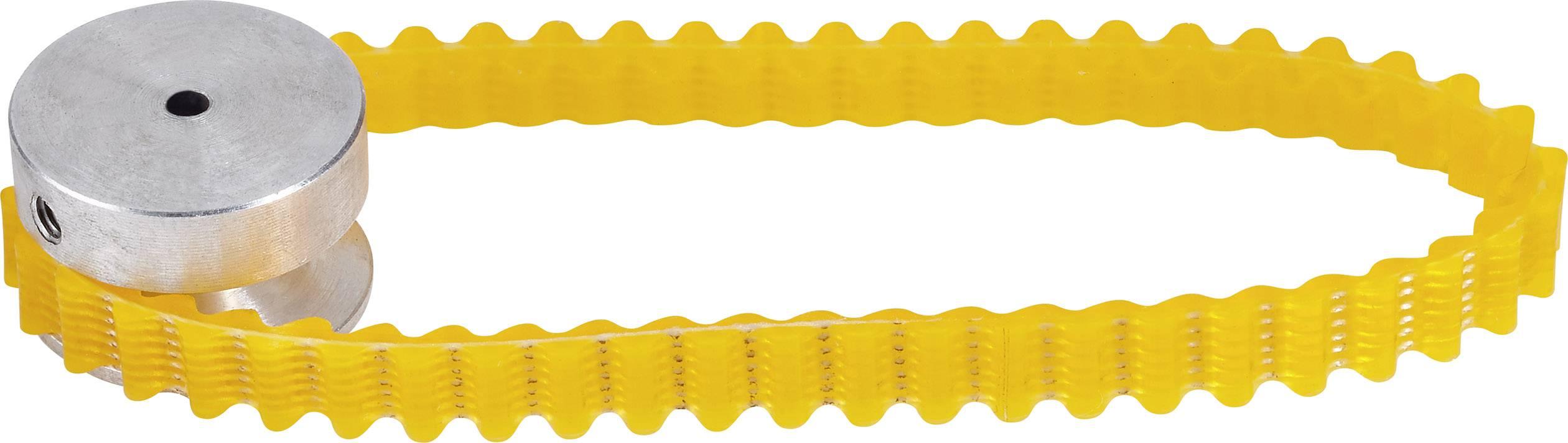 Klínová řemenice hliníková Modelcraft, Ø 2,3 mm