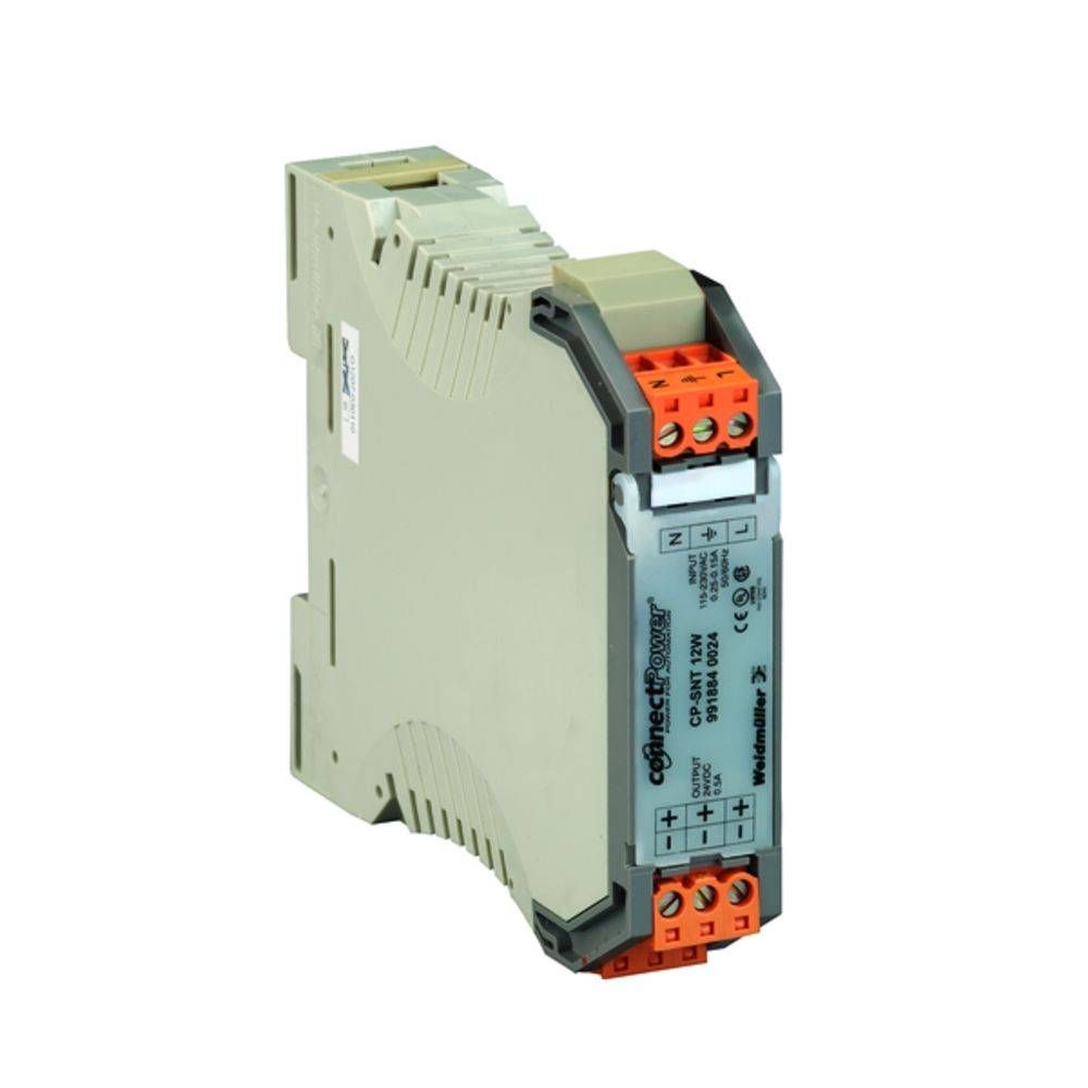 Síťový zdroj na DIN lištu Weidmüller CP SNT 12W 24V 0.5A, 1 x, 24 V/DC, 0.5 A, 12 W