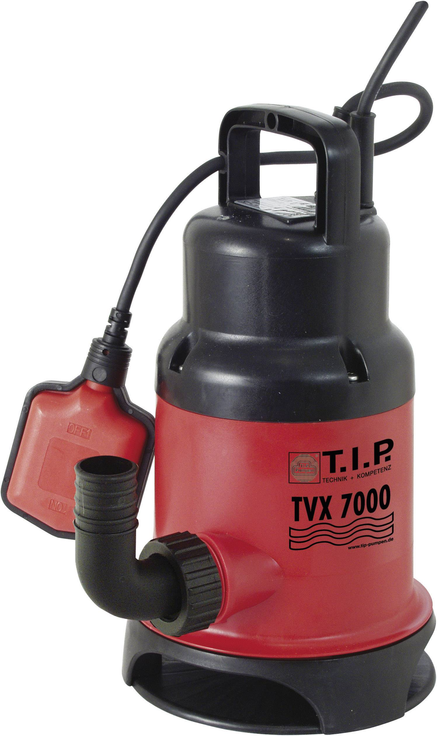 Kalové ponorné čerpadlo T.I.P. Pumpen TVX 7000, 7000 l/h, výtlak do 5 m