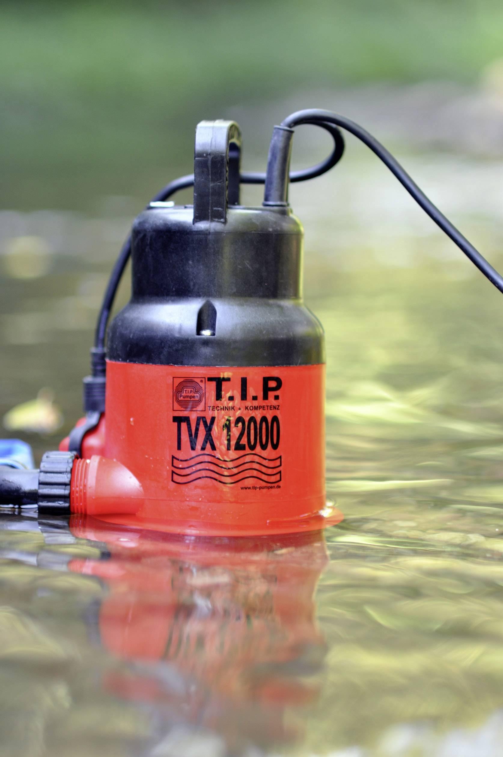 Kalové ponorné čerpadlo T.I.P. Pumpen TVX 12000, 10800 l/h, výtlak do 6 m