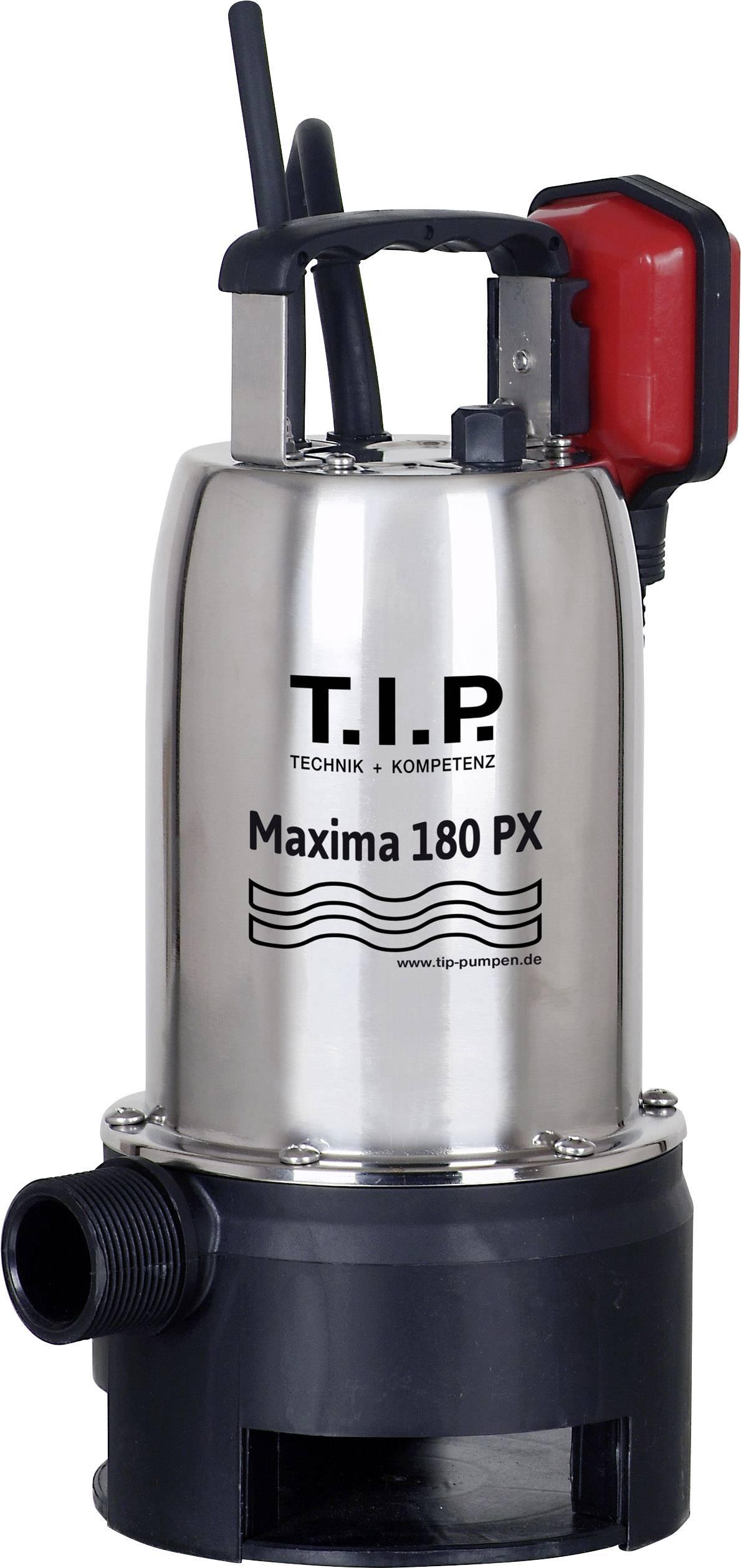 Kalové ponorné čerpadlo T.I.P. Pumpen Maxima 180 SX, 10500 l/h, výtlak do 7 m