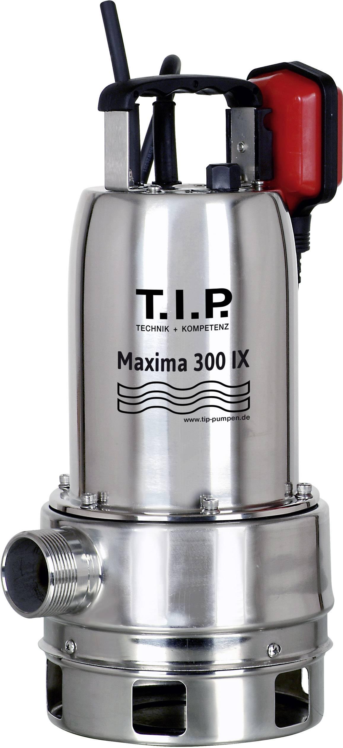 Kalové ponorné čerpadlo T.I.P. Pumpen Maxima 300 SX, 18000 l/h, výtlak do 8 m