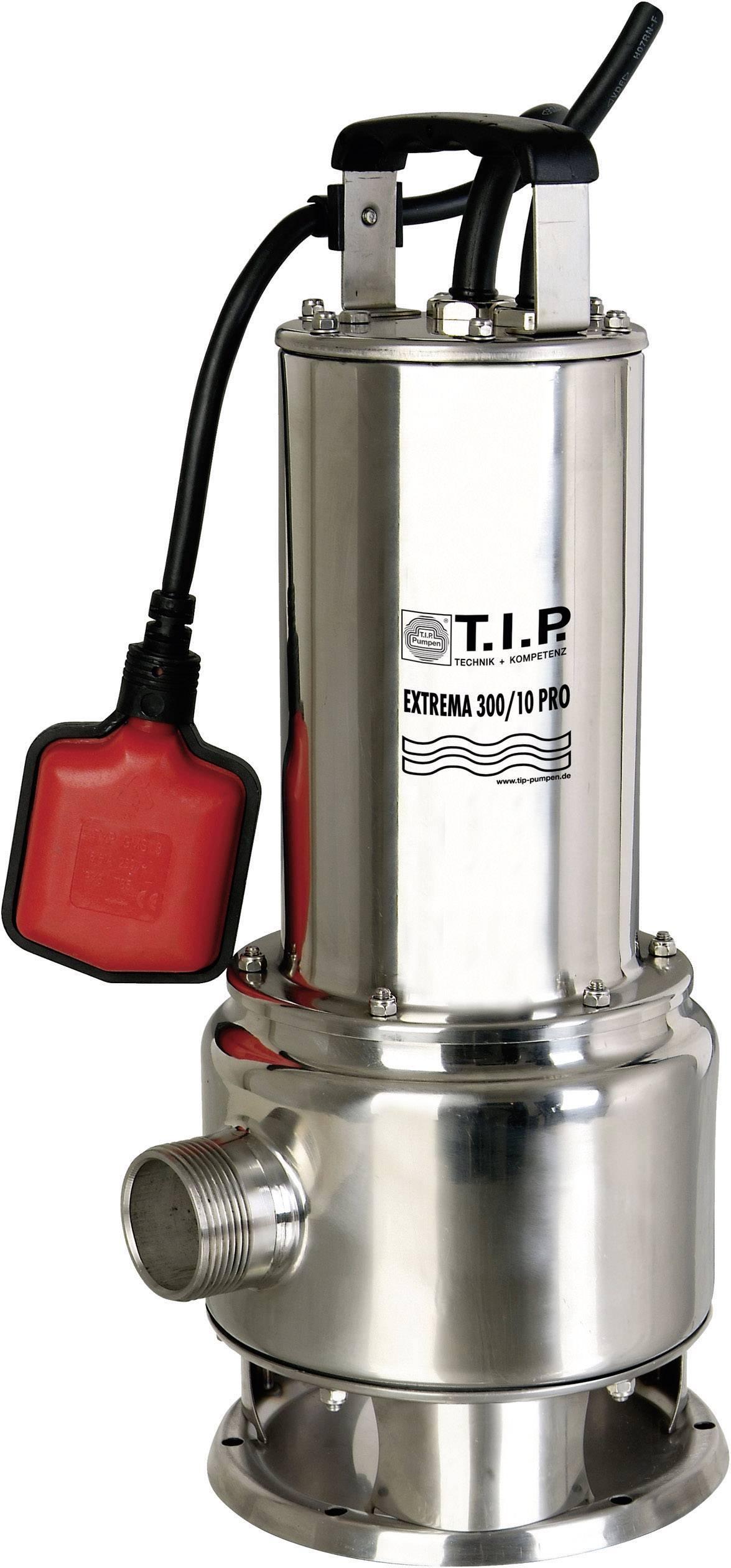 Kalové ponorné čerpadlo T.I.P. Pumpen Extrema 300/10 Pro, 19500 l/h, výtlak do 10,5 m
