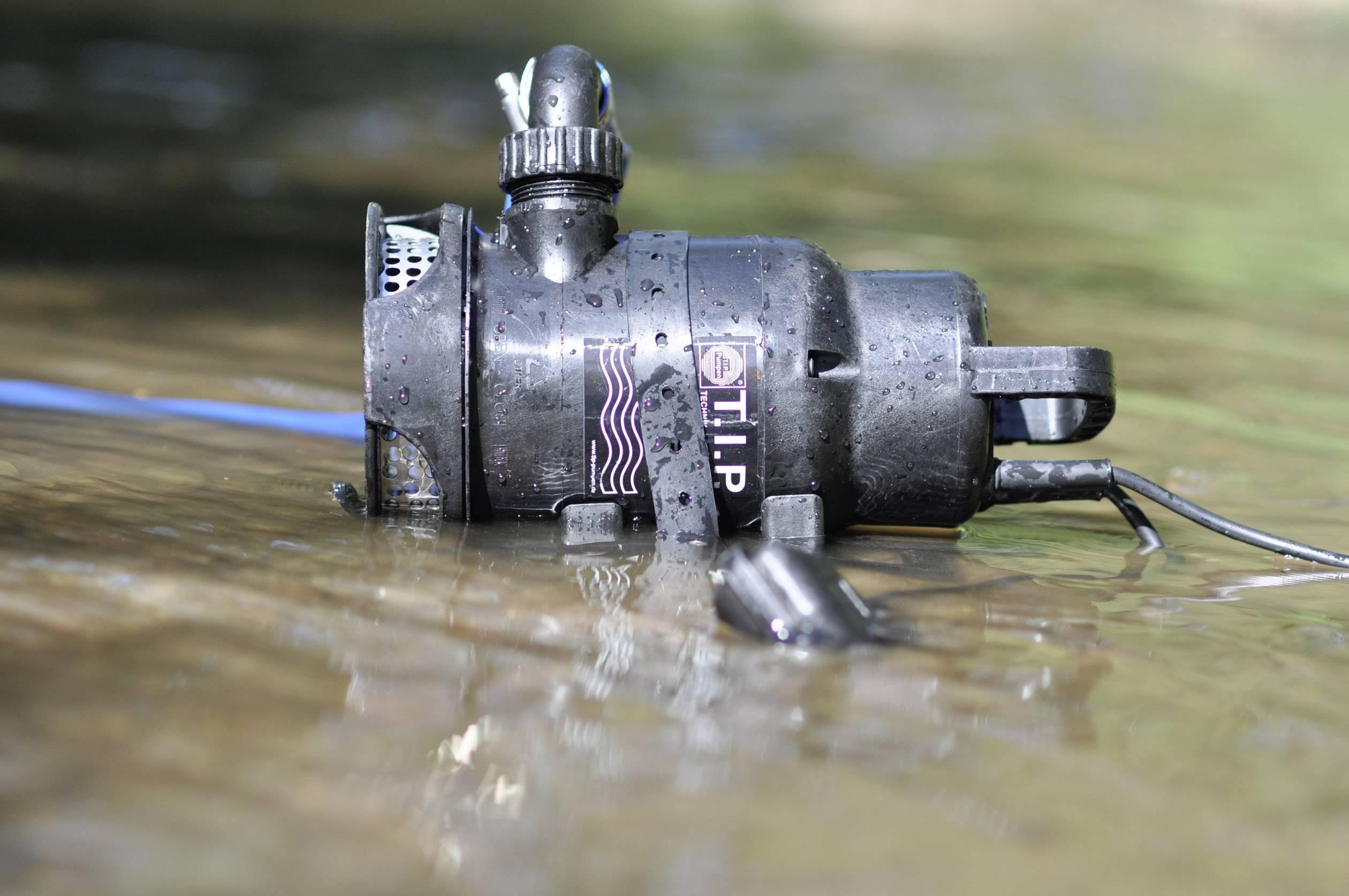 Kalové ponorné čerpadlo T.I.P. Pumpen DTX 7500 T, 7500 l/h, výtlak do 6 m