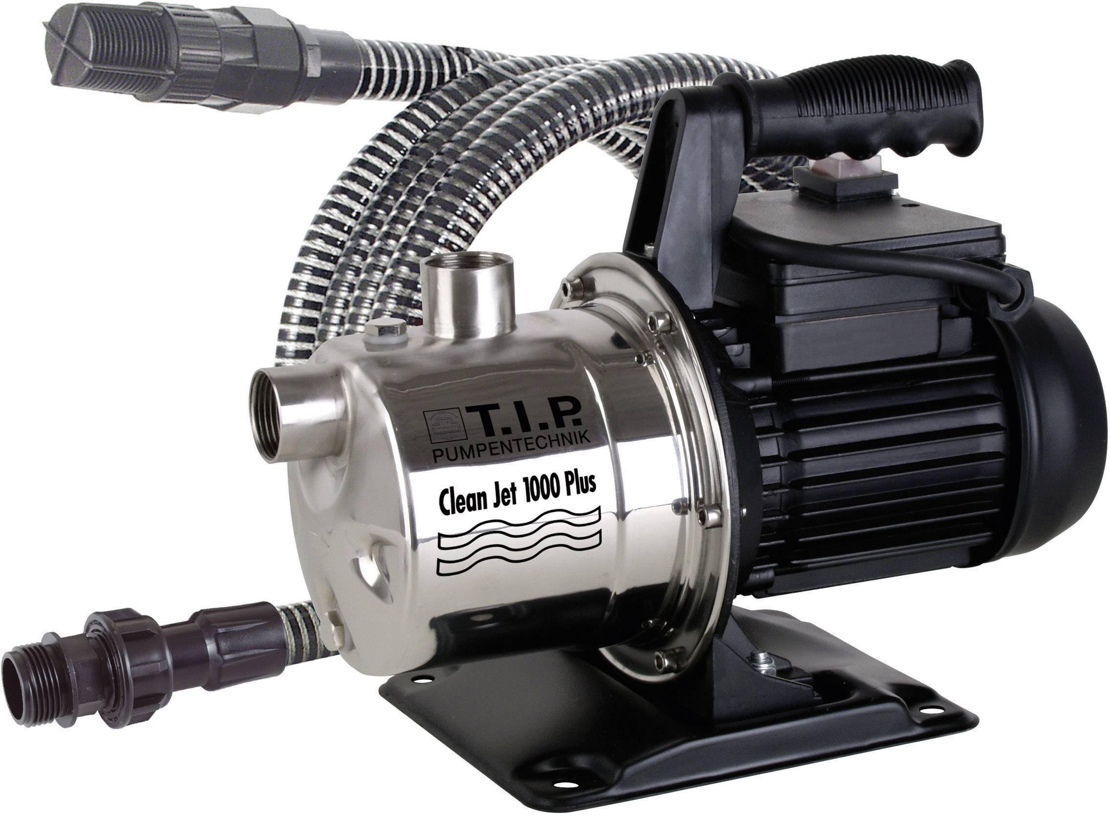 Zahradní čerpadlo T.I.P. Clean-Jet 1000 Plus 30094, 3300 l/h, 46 m, 800 W