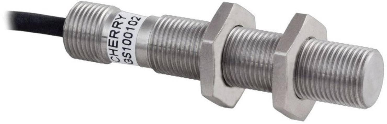 Senzor otáček s kabelem Cherry Switches GS100102, 5 - 24 V/DC, M12-1, kabel 1 m