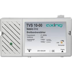 Širokopásmový antenní zesilovač BK, DVB-T Axing TVS 10, 22 dB