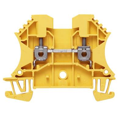W-Series, Feed-through terminal, Rated cross-section: 2,5 mm², Screw connection, Direct mounting WDU 2.5 GE Weidmüller Množství: 100 ks